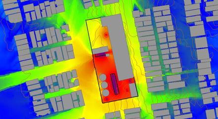 Environmental Impact Report (EIR) noise studies